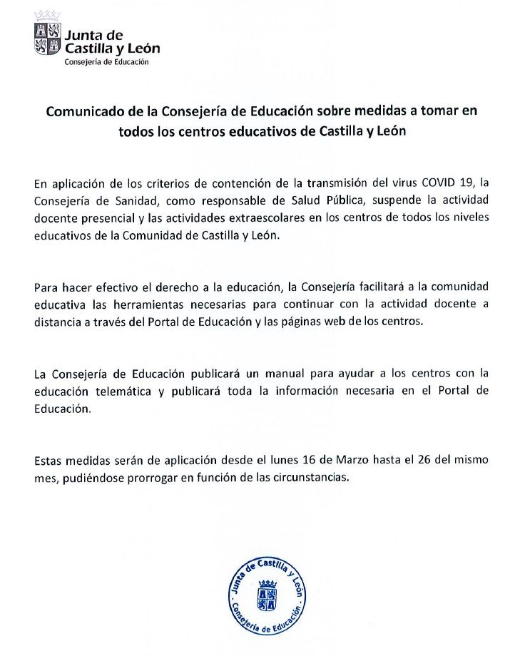 Comunicado-Coronavirus-Consejeria-13-03-2020