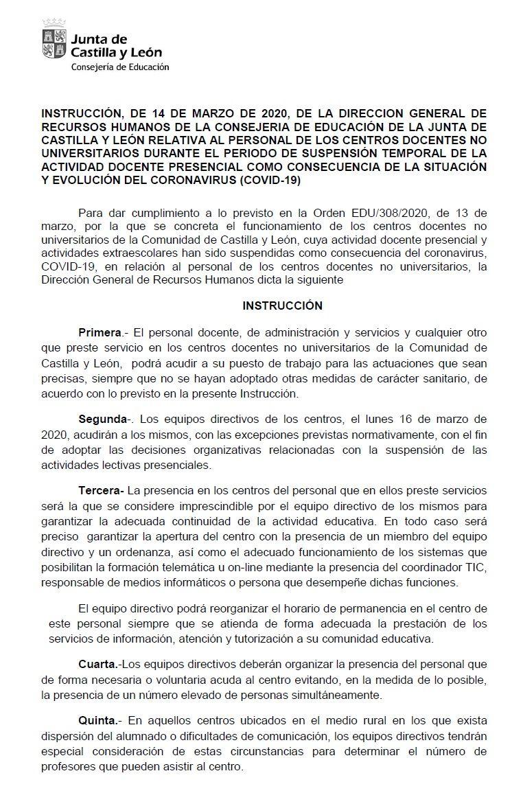 Comunicado-Coronavirus-Instruccion-Consejeria-14-03-2020-01