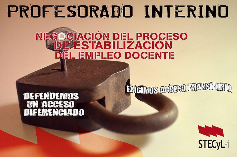 Profesorado-Interino-Negociacion-Estabilizacion-Empleo