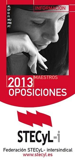 Oposiciones 2013