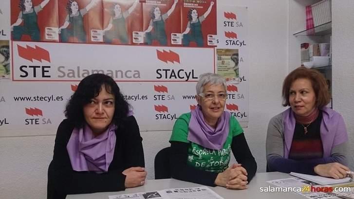 Rueda de prensa STE Salamanca