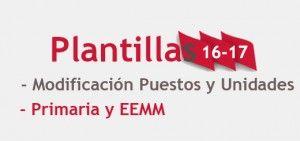 Plantillas Curso 16-17