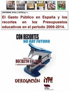 Gasto Público España 2009-2014