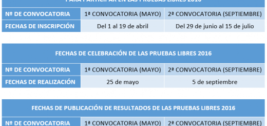 Calendario-pruebas-libres-2016