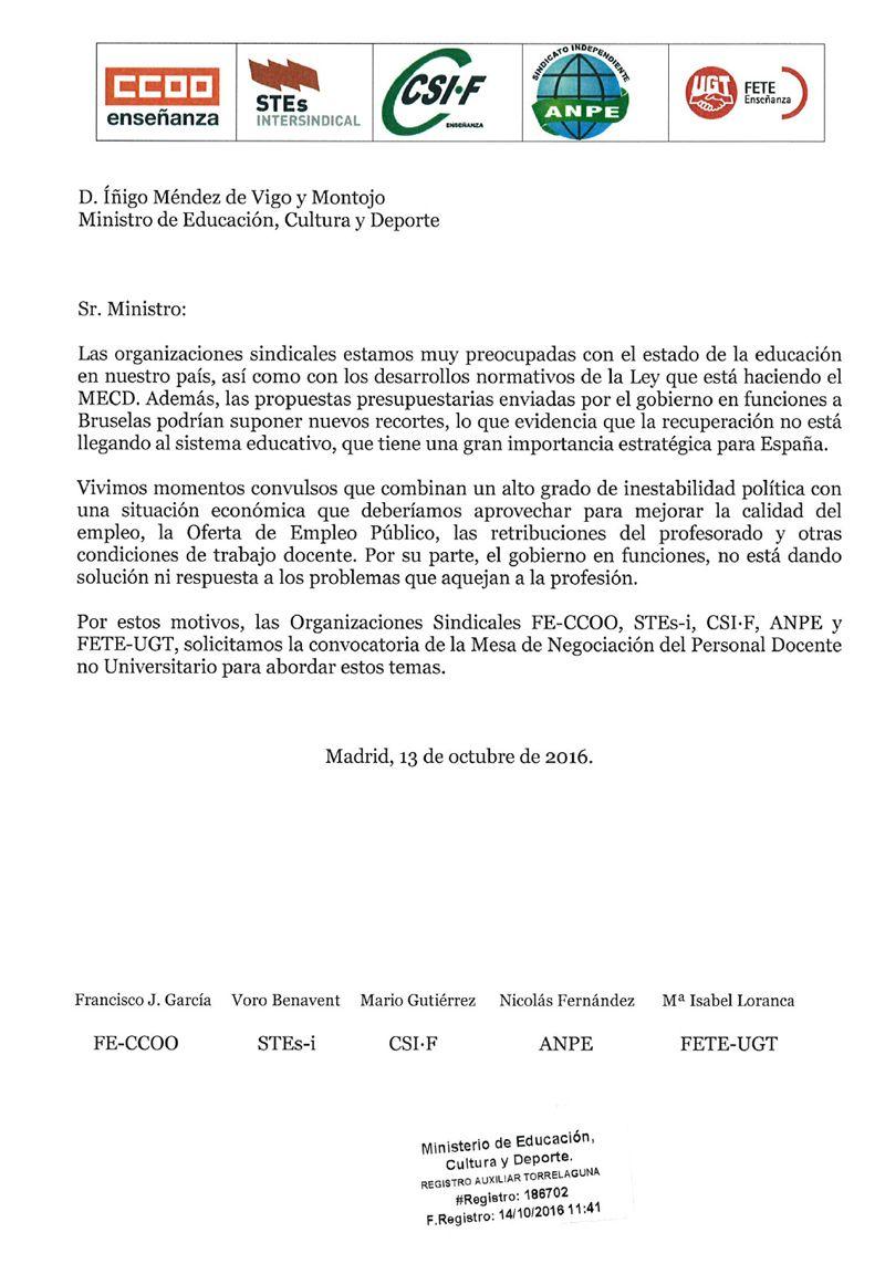 161013--Carta-Ministro-peticion-Mesa-Sectorial