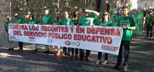 Pancarta Ávila