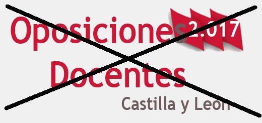 Oposiciones CyL 2017