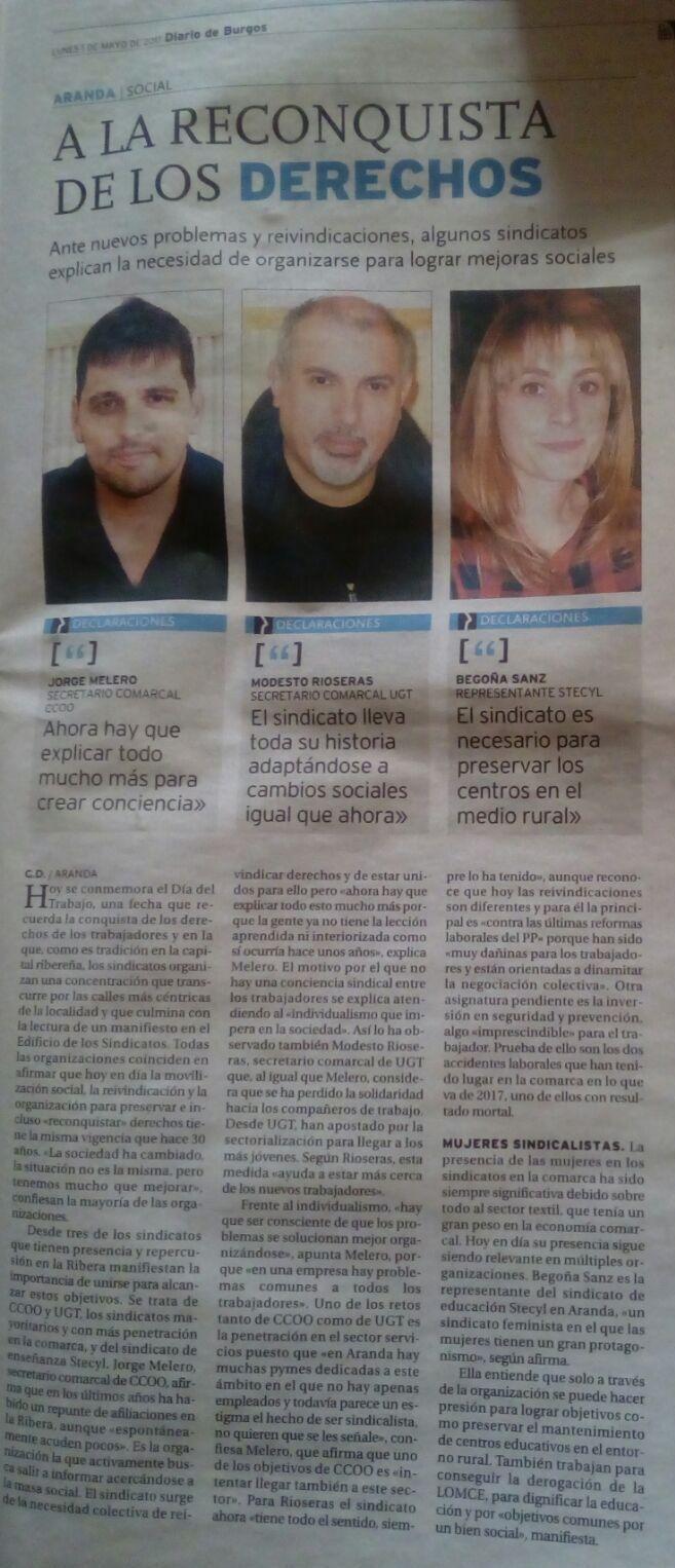 Begoña Diario de Burgos