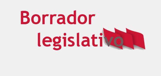 Borrador-legislativo