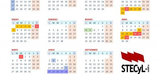 Calendario escolar BOCyL 2018_19