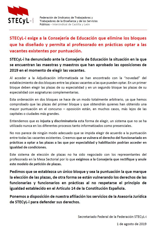 Suspendion-Peticiones