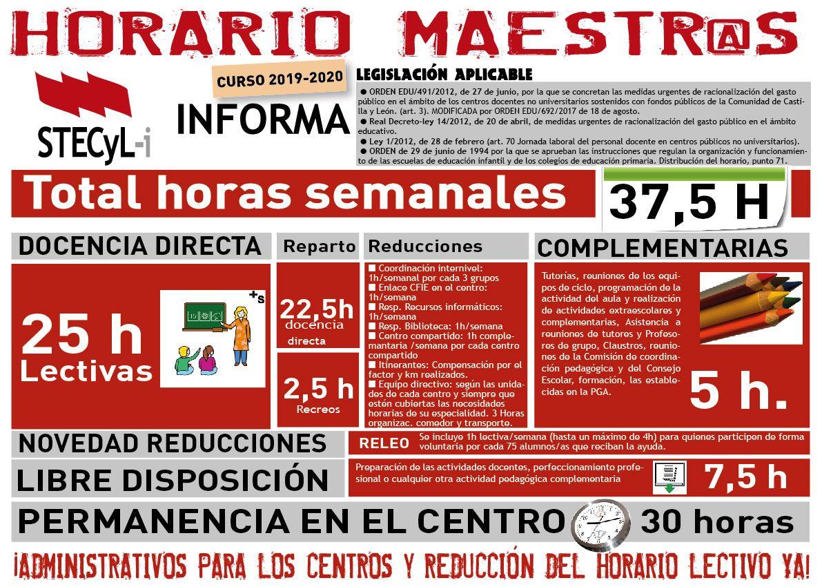 Horarios-Maestros/as