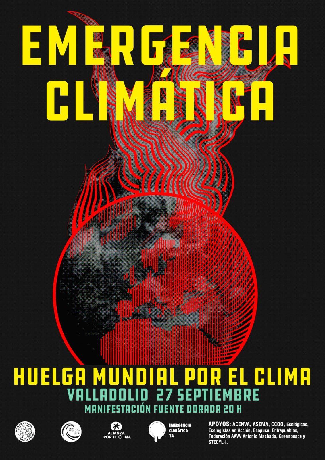 Huelga-Cambio-Climatico-Valladolid