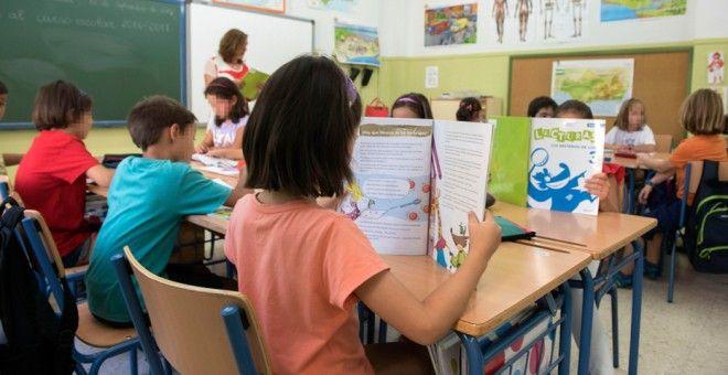 Riaño Escuela Rural Inglés Francés lengua