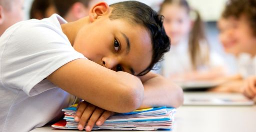 Alumnado aburrido