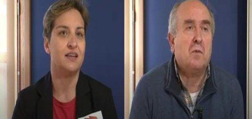 Ana Redondo y Javier Gómez de Ste Palencia
