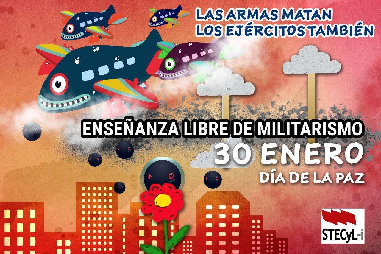Enseñanza militarista NO