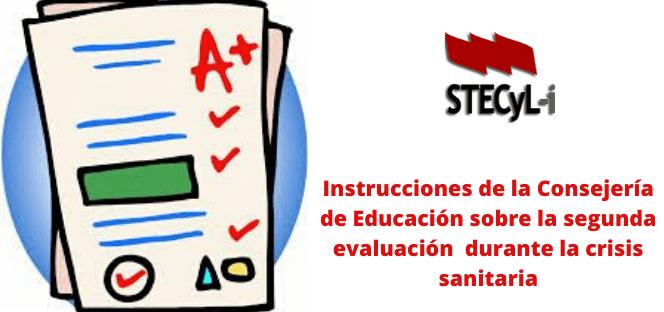 Instrucciones 2ª evaluación