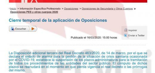informacion-suspension-plazos-oposiciones-interinidades-16-03-2020