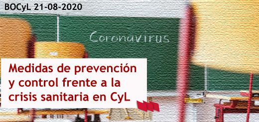 pizarra-coronavirus-medidas-crisis-sanitaria-CyL