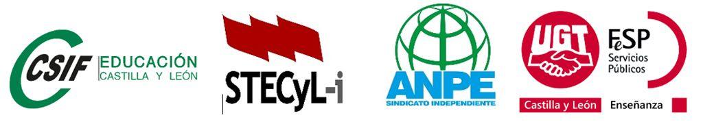 Organizaciones Sindicales Mesa Sectorial de Educación de CyL