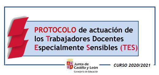 Protocolo Actuación Trabajadores Especialmente Sensibles (TES)