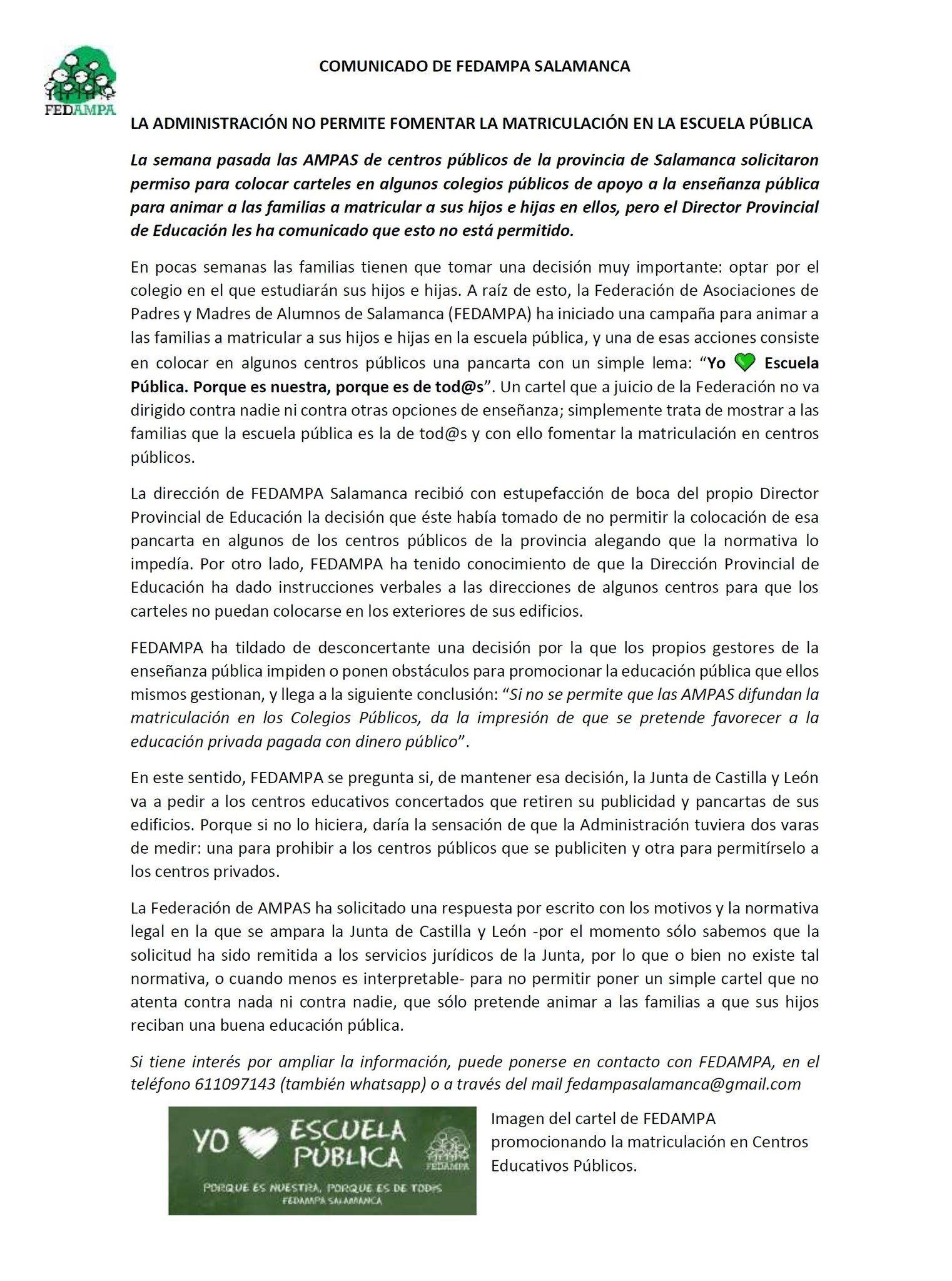 Comunicado-FEDAMPA