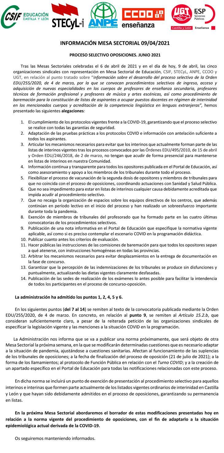 2021-04-09-Comunicado-OOSS-Oposiciones-2021