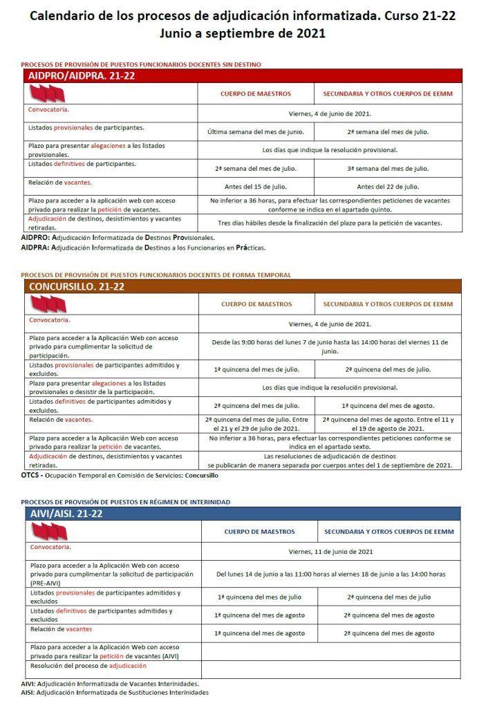 Calendario-Adjudicaciones-21-22-Funcionarios-Interinidades