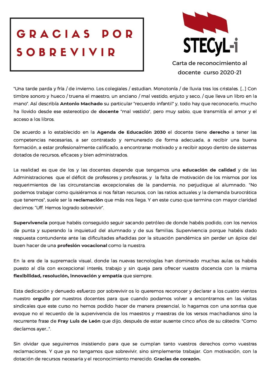 Carta agradecimiento 2020-21