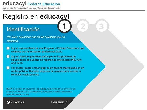 Registro Educacyl